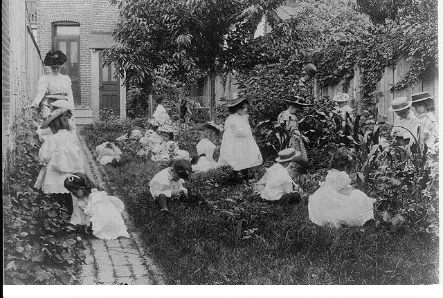 Первый детский сад в Америке