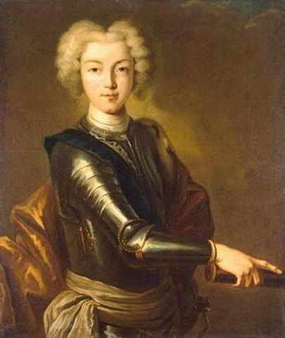 Правление императора Петра II Алексеевича (внука ПетраI) (1727-1730)