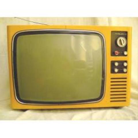 LA TV EN BLANCO Y NEGRO