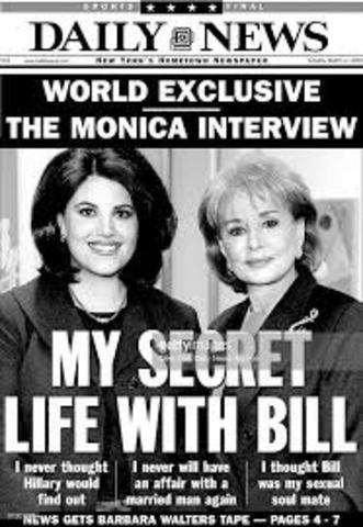 Monica Lewinsky affair