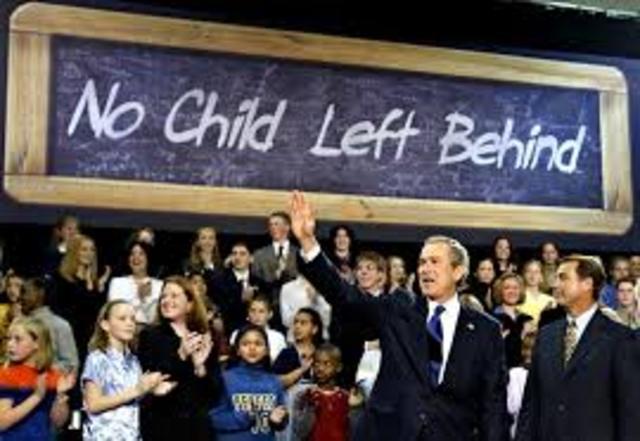 """No child left behind"" act"