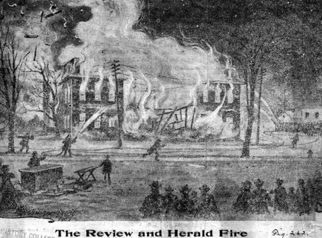 Review & Herald Publishing House Fire