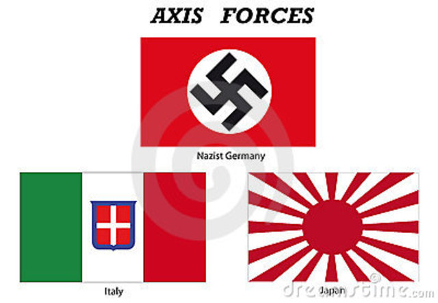 Germany, Italy, and Japan form a pact known as Axis Powers