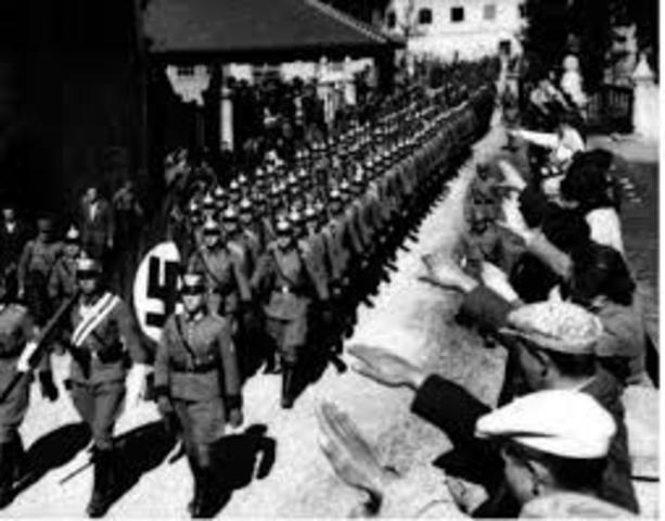 Germany annexes Austria