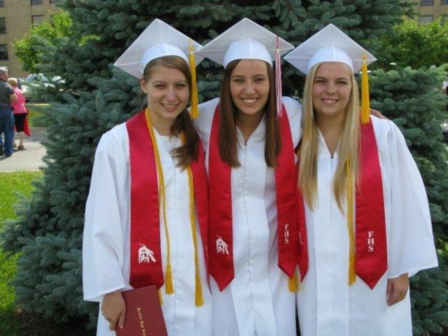 The triplets graduate!