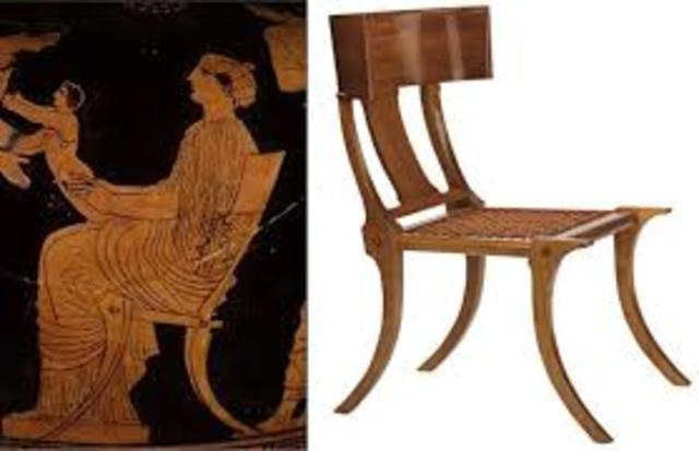Greek continued... an example of furniture