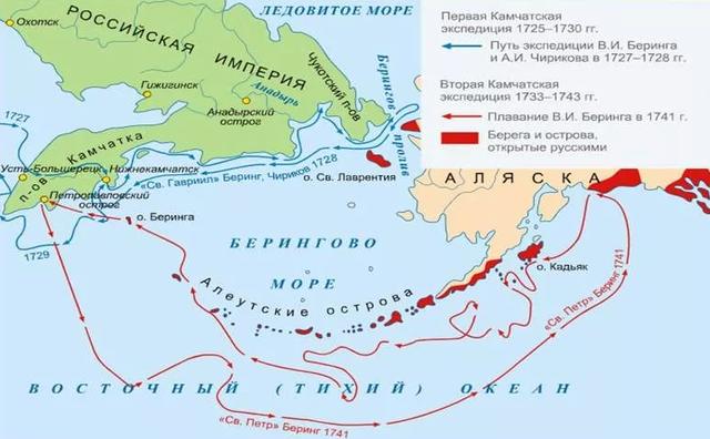 Вторая экспедиция В.Беринга на Камчатку