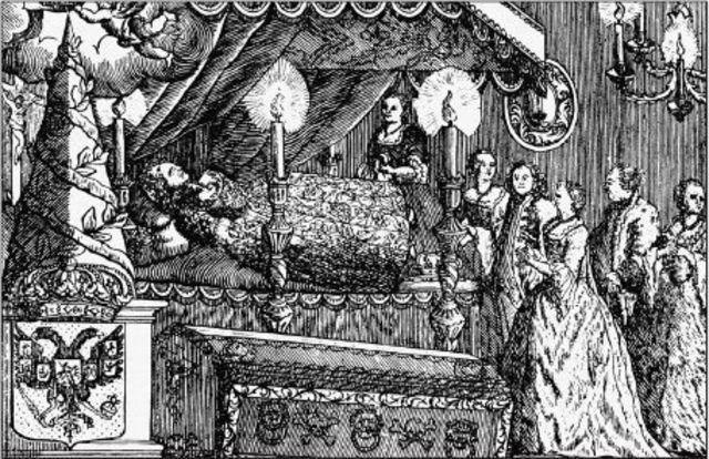 Смерть Елизаветы Петровны