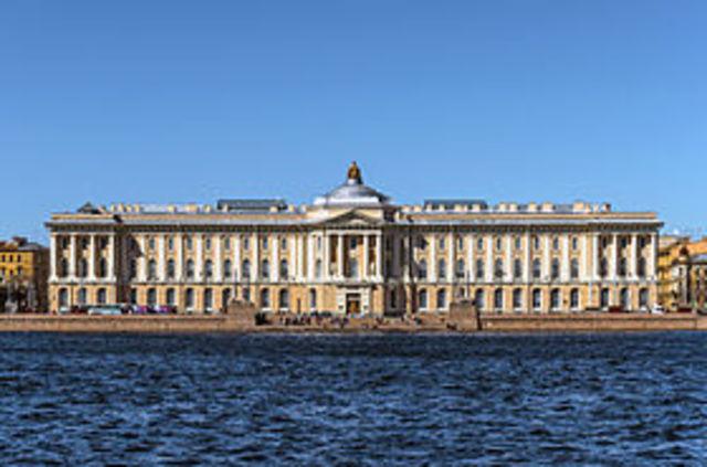 Академия художеств в Петербурге
