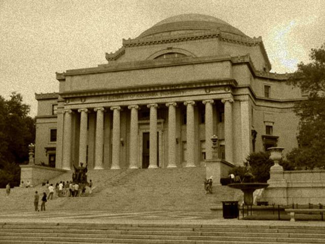 Enrolls at Columbia University, New York