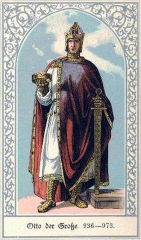 Король Германии Оттон Великий