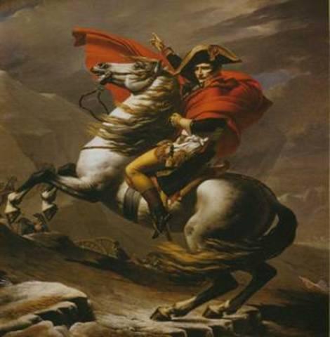 Наполеон провозглашает себя императором Италии