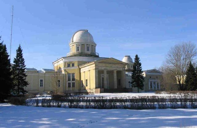 Открытие Николаевской (Пулковской) астрономической обсерватории.