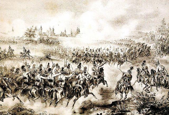 Восстание в Венгрии, подавленное русскими войсками.