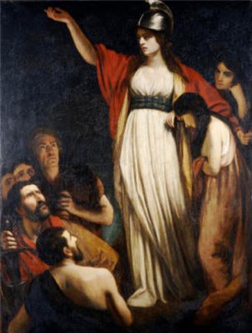 The Iceni Rebellion.  Roman army defeats a major revolt under Boudicca