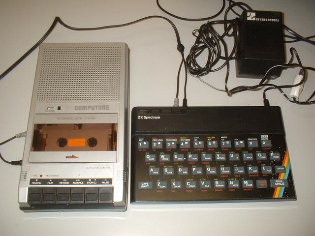 Spectrum, aún recuerdo las cintas de cassette y esos gráficos maravillosos
