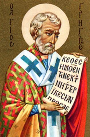 San Gregorio Nacianzo