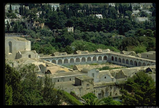 Tiberius's visit to Capri.