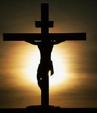 Crucifixion of Jesus Christ (estimated year)