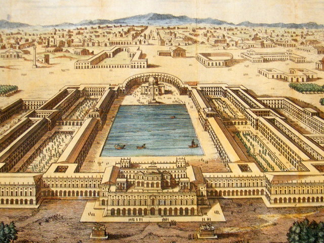 6. Otho finishes construction on the Golden Palace of Nero.