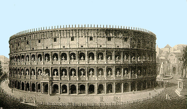 Titus finishes work on the Colosseum