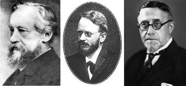 Hugo de Vries, Carl Correns y Eric Von Tschermak