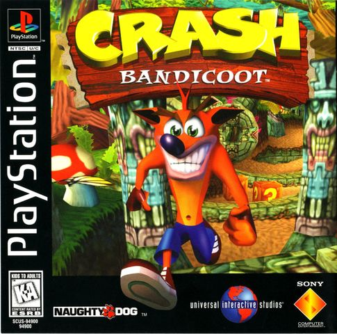 1996 CRASH BANDICOOT