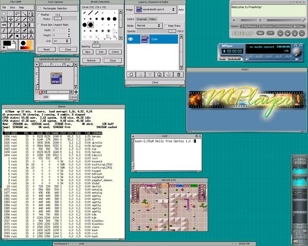 Presentación Oficial Linux 0.02