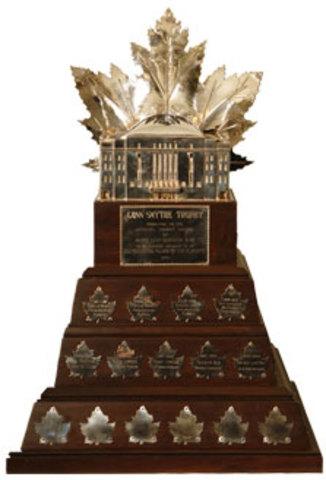Won Conn Symthe trophy
