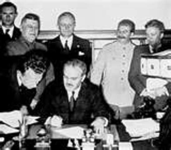 German-Soviet Non-Aggression Pact