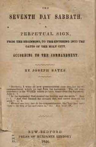 Bates Accepts the Sabbath