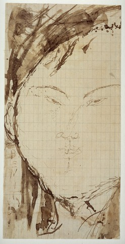AMEDEO MODIGLIANI «Portrait du peintre Eduardo Garcia Bénito»