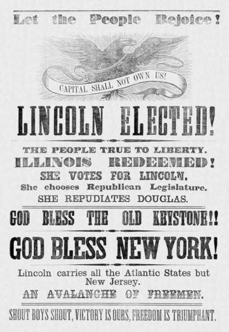 Lincoln Elected
