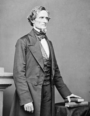 Jefferson Davis Is A Secessionist
