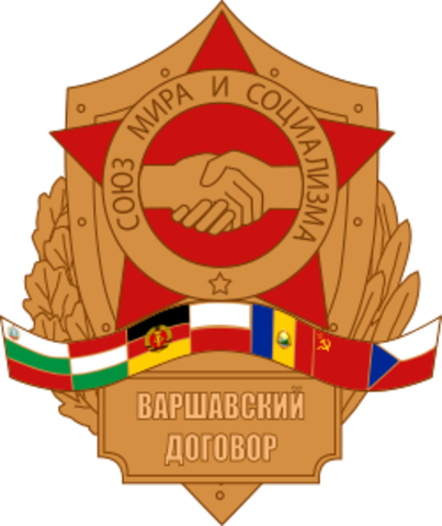 Bloque Oriental (Pacto de Varsovia)