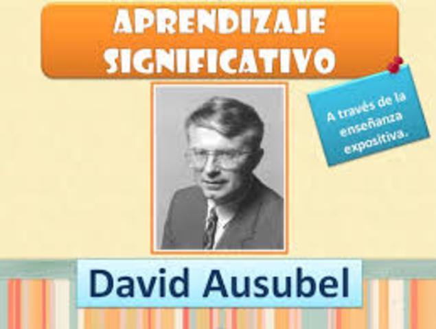 DAVID AUSUBEL:https://psicologiaymente.net/desarrollo/aprendizaje-significativo-david-ausubel