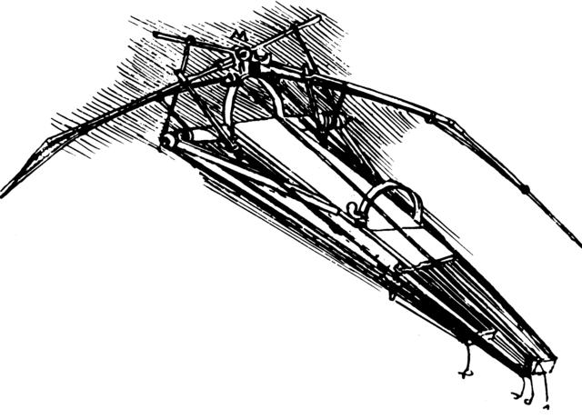 Leonardo da Vinci's Ornithopter