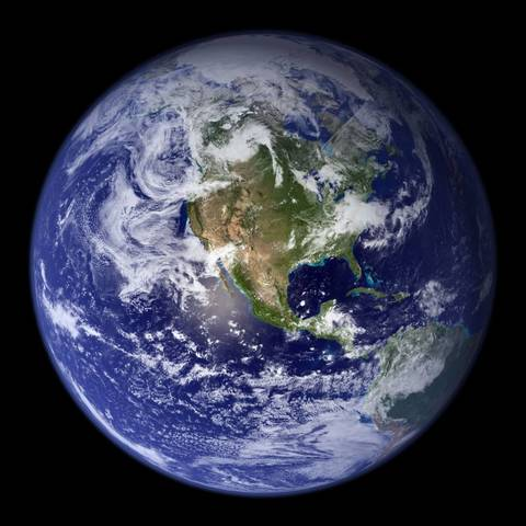 naceu o planeta Terra.