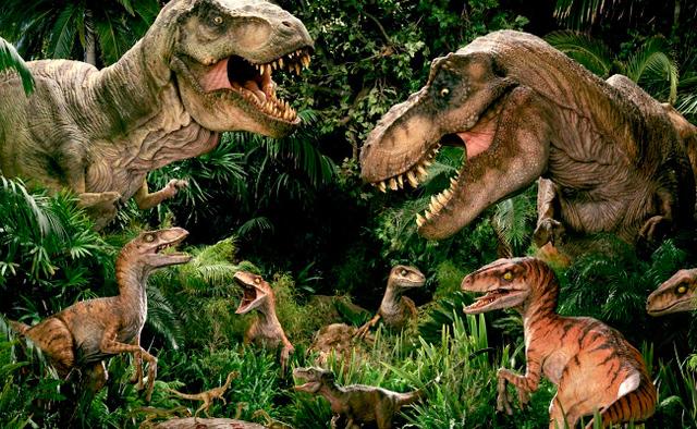 naceron os dinosauros.
