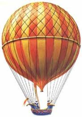 First Hydrogen Balloon Flight