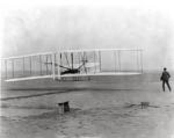 First True Flight on a Flyer
