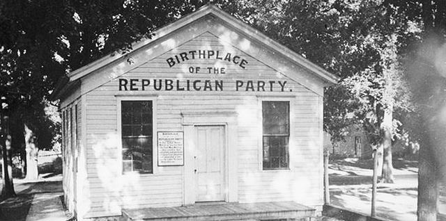 """The First """"anti-Nebraskan"""" meeting takes place in Rippon, Wisconsin."""