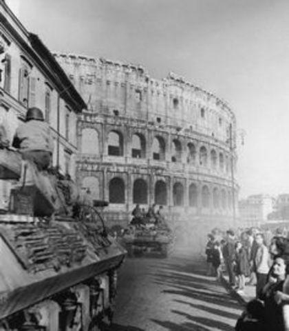 Los Aliados invaden Italia