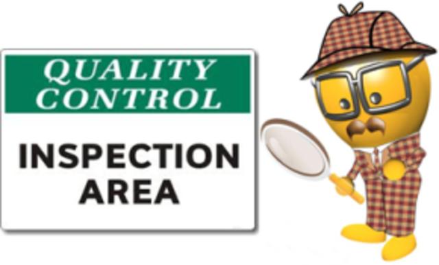 Inspección de la calidad