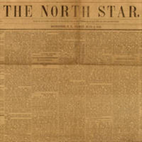 """Douglass Publishes First Edition of """"The North Star"""""""