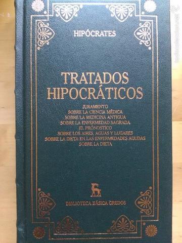 Hipócrates escribe los Tratados hipocráticos.