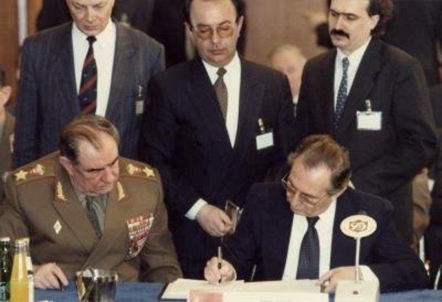 Disolución Pacto de Varsovia