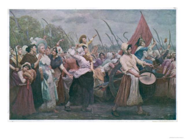 Women March on Versilles