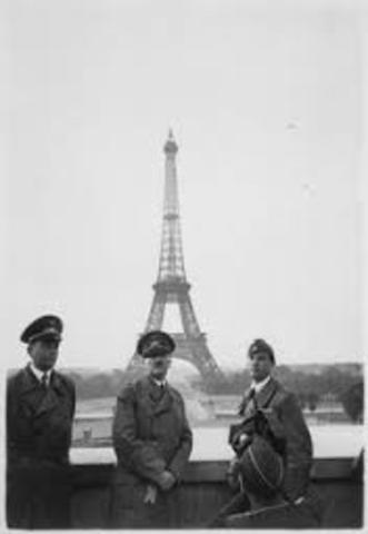 Alemania ocupa Francia