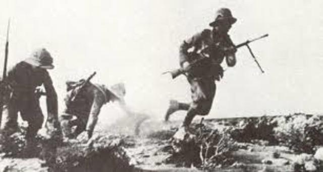 Ofensiva Italiana al Norte de Africa